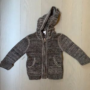 Splendid sweater zip up size 6-12m